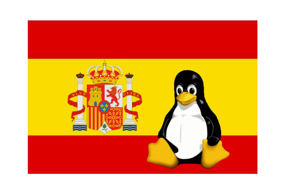 bandera_españa_tux_canarias_software_libre