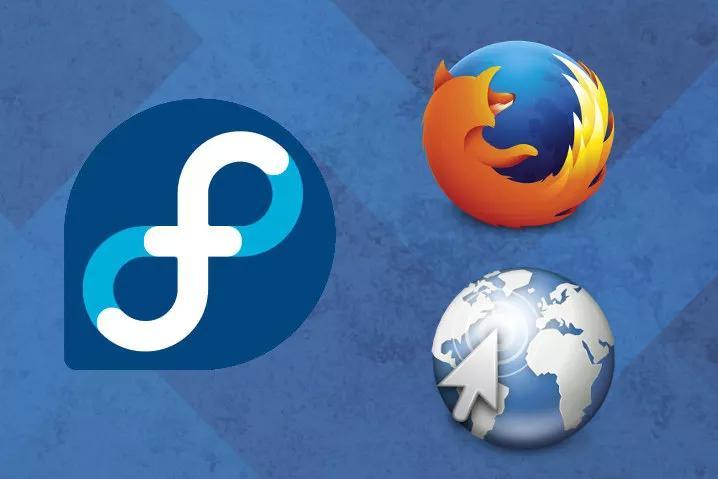 Fedora-Mozilla-Firefox-y-Epiphany-Web